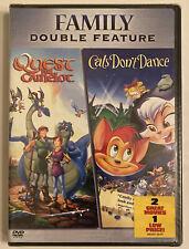 Quest for Camelot/Cats Dont Dance (DVD, 2006, 2-Disc Set)