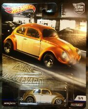 Hot Wheels Volkswagen Beetle VW bug car culture real riders toy car MIP
