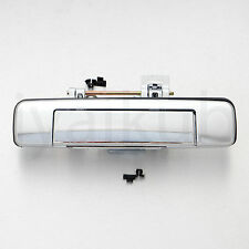 Holden Colorado Chevrolet Z71 tailgate handle black glossy with key hole