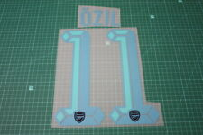 Arsenal 15/16 #11 OZIL UEFA Champions League AwayKit Nameset Printing