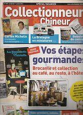 COLLECTIONNEUR & CHINEUR N° 107--CARTES MICHELIN/BRETAGNE MINIATURE/TINTIN