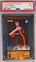 Tyler Herro 2019-20 Panini NBA Sticker & Card Collection Silver Foil Rookie