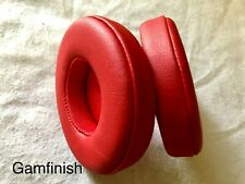Replacement Red Ear Pads For Beats by Dr Dre Solo 2 Solo 3 Wireless Headphone