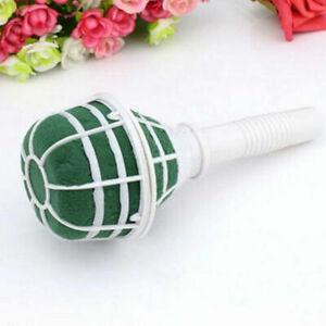 1-6 Pcs Bridal For Wedding Bride Bouquet Holder Decor Floral Flower Foam I5P7