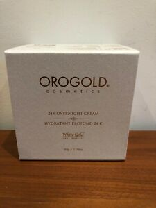 Orogold 24K White Gold Overnight Anti-Aging Moisturizer Cream with Retinol