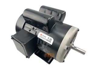 1 HP Farm Duty Single Phase Electric Motor 1725 RPM 56 Frame TEFC 115/230 Volt