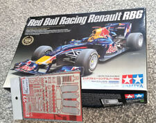1/20 Tamiya Red Bull Racing RB6 F1 Kit + Studio 27 Grade Up + Some Carbon Decals