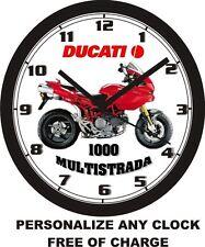 DUCATI 1000 MULTISTRADA WALL CLOCK-NEW!!