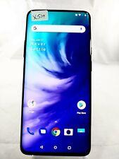 OnePlus 7 Pro 5G GM1925 256GB Sprint GSM Unlocked Smartphone Cellphone Blue X519