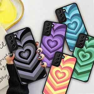 LOVE HEARTS Pink Blue Purple Phone Hard Case Cover For iPhone 8 11 12 13 Pro Max