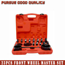 Multi SIZE Front Wheel Bearing Press Tool Removal Adapter Puller Pulley Kit