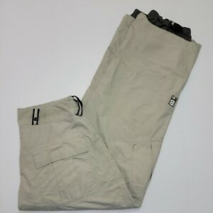 Bonfire Snowboarding Company Pants - Fusion - Particle - Men's Large - Beige