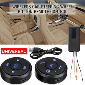 Car Wireless Steering Wheel 10 Button Remote Control Stereo DVD GPS Night Light