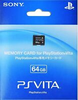 """100% OFFICIAL SONY PS VITA 64GB MEMORY CARD PLAYSTATION PSV NEW """"FREE SHIPPING"""""""