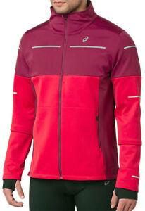 Asics Lite-Show Winter Mens Running Jacket - Pink