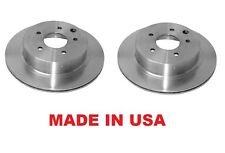Premium Rear Brake Rotors For Infiniti J30 93-97 Q45 97-01  PAIR MADE IN USA