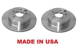Premium Rear Brake Rotors For Infiniti J30 93-97 Q45 97-01 Made in USA Set of 2