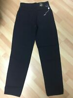 NWOT Mens VERSACE COUTURE MADE in ITALY Chino Jeans Black W29 L34 H7 RRP£699.