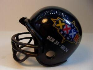 (1) Denver Broncos (Super Bowl XXXII) Riddell Pocket Pro Football Helmet