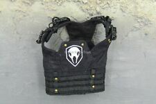 1/6 Scale Tactical Female Shooter Black Skull Molle Vest