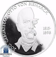 Deutschland 10 Euro Gedenkmünze 2015 PP Otto von Bismarck in Spiegelglanz