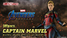 NEW Bandai Tamashii Ltd S.H. Figuarts Avengers: Endgame CAPTAIN MARVEL Figure