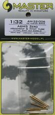 Master 1/32 Mitsubishi A6M5 Zero Armament and Pitot Tube # 32006