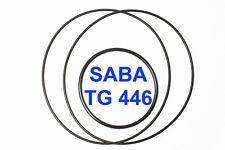 SET CINGHIE SABA TG 446 REGISTRATORE A BOBINE BOBINA EXTRA FORTI FRESCHE TG446