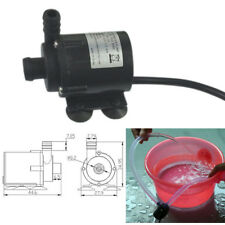 Water Pump for Fish Tank Aquarium Fountain DC12V Micro Brushless Submersible