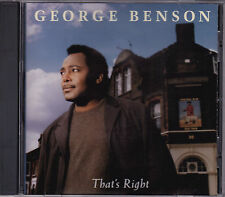 George Benson - That's Right - CD (GRD9824 GRP 1996)