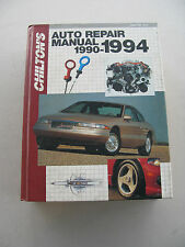 USED CHILTON'S AUTO REPAIR MANUAL 90-94 (#7912)