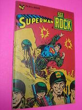 SGT ROCK Cenisio 1979 n. 5  ORIGINALE Superman