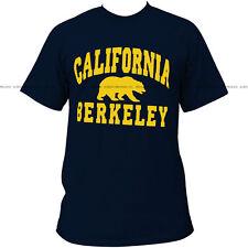 New Cal Berkeley Golden Bears University Navy T-shirt - #7054 (X Large)