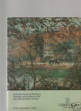 Christie's Important American Paintings, Drawings 1984
