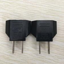 2x EU to US Conversion Plug Adapter American European Travel Adapter 6A 250V