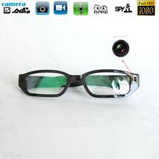DIY 1080P HD Digital Video Camera Personal Black Glasses Eyewear Camcorder DVR