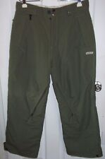 686 Snow Boarding Pants Mens Large Ski Snow Olive Green Mannual
