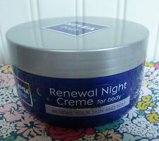 SEALED NIVEA BODY RENEWAL NIGHT CREME for BODY 10 OZ cream