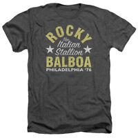 ROCKY BALBOA Itallian Stallion PHILLY '76 Heather T-Shirt All Sizes