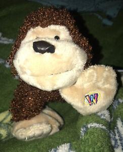 Webkinz NWT Cheeky Monkey HM080 With Sealed Code