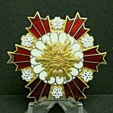 1968 Japanese Fireman Badge Pin Badge Button