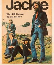 THE BEATLES John Lennon PAUL McCARTNEY Ringo Starr PAULA BOYD Jackie magazine UK