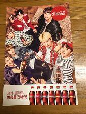 BTS x coca-cola 2018 Worldcup Promo Special Poster Ver.1