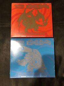 Pokemon Evolutions Elite Trainer Box Blastiose AND Charizard (1 Box of Each)