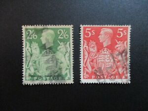 Great Britain #249a-50 Used- WDWPhilatelic (B2D4) 2
