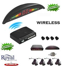 KIT SENSORI DI PARCHEGGIO WIRELESS UNIVERSALI RETROMARCIA DISPLAY AUTO FURGONE