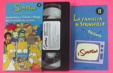 VHS film I SIMPSON 11 SECONDA STAGIONE Grattachecca e fichetto marge(F107)no dvd