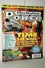RIVISTA PLAYSTATION POWER ANNO 3 NUMERO 12 DICEMBRE 1998 USATA ED ITA VBC 47044