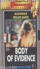 BODY OF EVIDENCE - MADONNA - FILM VHS 1993