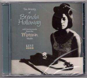 RARE MOTOWN - THE ARTISTRY OF BRENDA HOLLOWAY - 24 TRACK CD - KENT - NEW